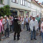 Stadtführer mit Reisegruppe