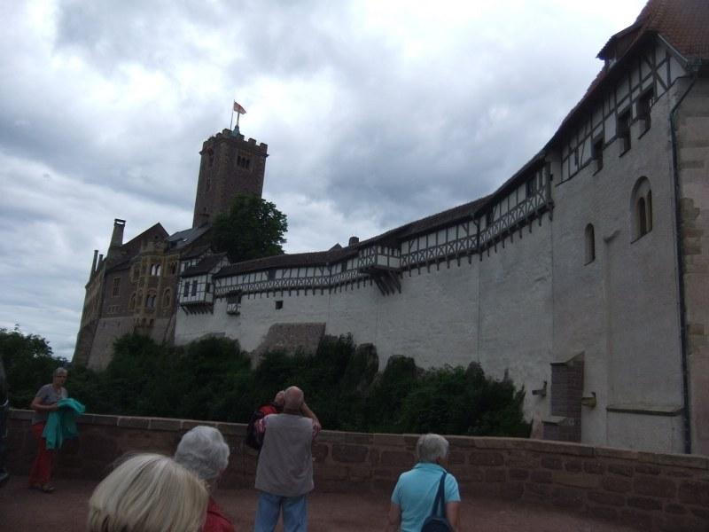 Aussenmauer_der_Wartburg